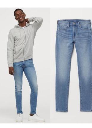 Мужские голубые джинсы 30