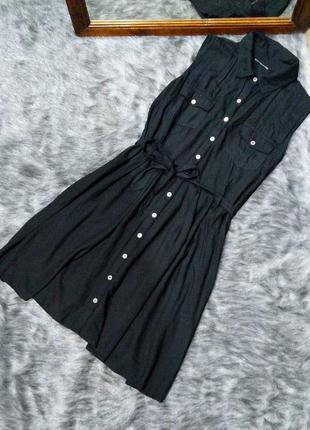 Платье рубашка из натуральной вискозы