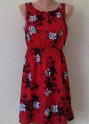 Новое платье с принтом new look