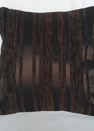 """Декоративная подушка """"Шоколад"""" 40см х 40см, 1шт"""