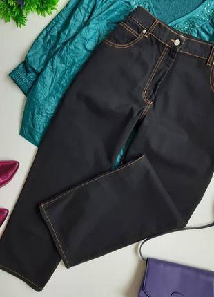 Укороченные джинсы мом