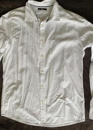 Біла сорочка, белая рубашка мужская.