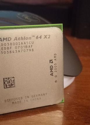 Процессор AMD AD03800IAA5CU 2 ядра 2 GHz 65W Athlon 64 X2