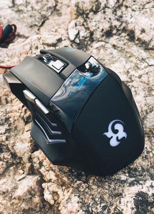 Игровая мышка A50 с ПОДСВЕТКОЙ (проводная)