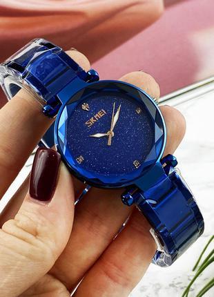 Оригинальные женские наручные часы Skmei 9180 Blue
