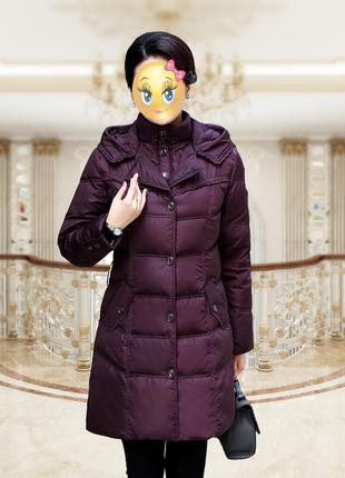 Необычный Роскошный Пуховик Пальто Куртка Парка Плащ Тренч