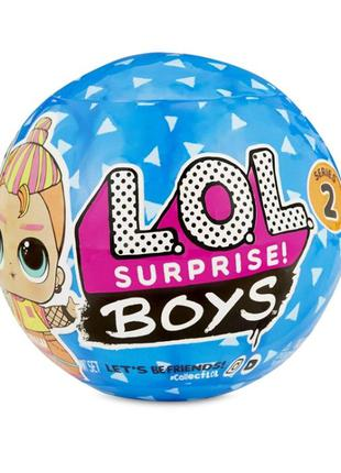 ЛОЛ Мальчики 2 серия L. O. L. Surprise Boys Series ЛОЛ Сюрприз