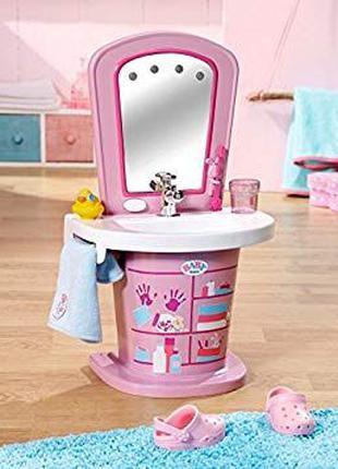 Интерактивный умывальник туалетный столик для куклы Baby Born ...