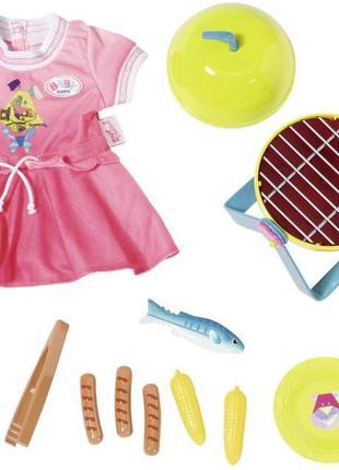 Набор одежды и аксессуаров для барбекю Zapf Creation Baby Born...