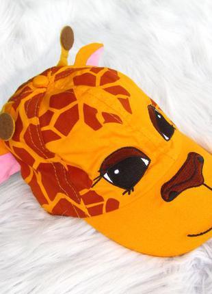 Стильная кепка  бейсболка  блейзер drayton manor жираф