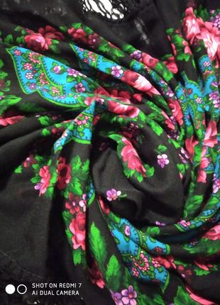 Платок шаль размер 1-50/1-50 тонкая шерсть