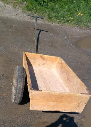 Тачка садовая Тележка возок візок