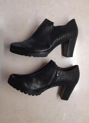 Ботильоны ботинки туфли gabor. разм.38