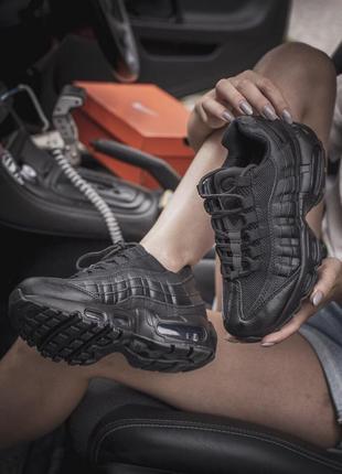 Кроссовки air max 95 black