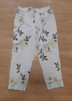 Джинсы штаны с завышенной талией
