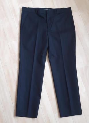 Чёрные брюки штаны zara basic