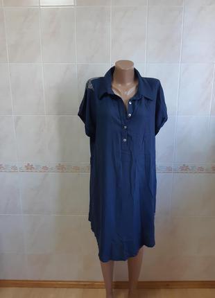 Лёгкое платье- рубашка playnew