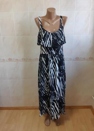 Длинное платье сарафан per una