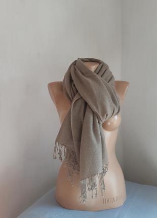 Тончайший кашемировый палантин шарф.