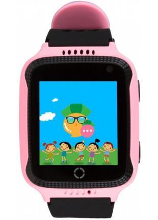 Детские смарт-часы Smart Watch Q529 GPS Pink