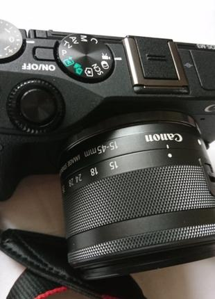 Фотокамера бездзеркальна Canon EOS M3 15-45 IS STM Black (+ подар