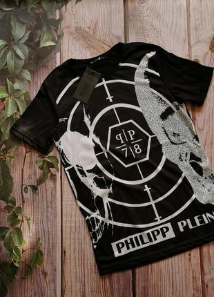 Модная футболка philipp plein