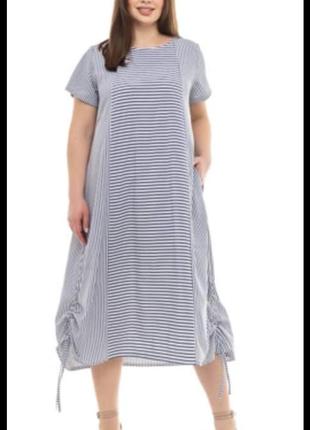 Платье батал ткань софт