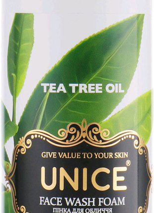 Пенка для лица с маслом чайного дерева 200мл