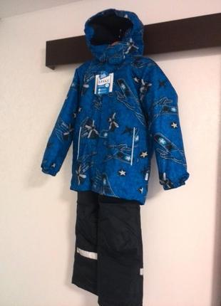 Комплект зимний lassie by reima(комбинезон,куртка) 128 см новый