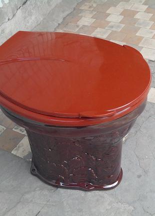 Крышка-сиденье для дачного унитаза