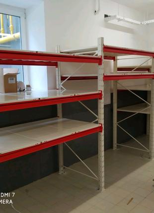 Монтаж складских Стеллажей и Стеллажей торгового оборудования