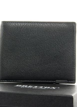 Мужской облегченный кожаный кошелек
