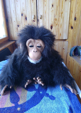 Игрушка шимпанзе известной фирмы FurReal как живой
