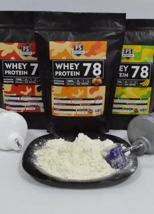 Протеин сывороточный 78% белка