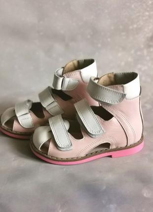 Детские ортопедические босоножки, летняя обувь
