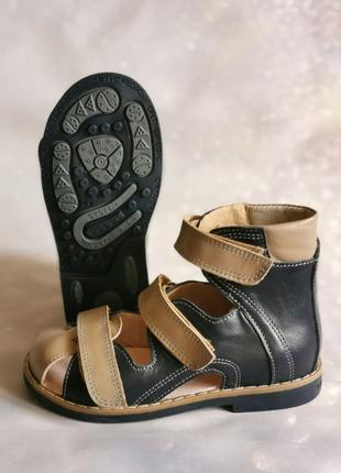 Ортопедические босоножки, обувь для мальчика