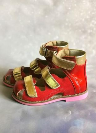 Ортопедические босоножки, летняя обувь для девочки