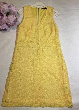 Платье ажурное new look размер 10
