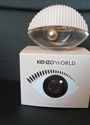 Туалетная вода Kenzo World оригинал Кензо духи + пробник в подаро