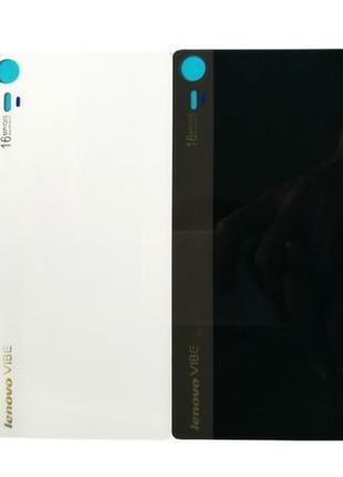 Задняя крышка Lenovo Z90-7 Vibe Shot черная и белая