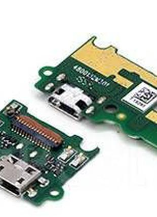 Нижняя плата Huawei Y6 Pro TIT-U02, Enjoy 5 с разъемом зарядки...