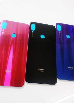 Задняя крышка Xiaomi Redmi Note 7, BLUE PINK Red Black !