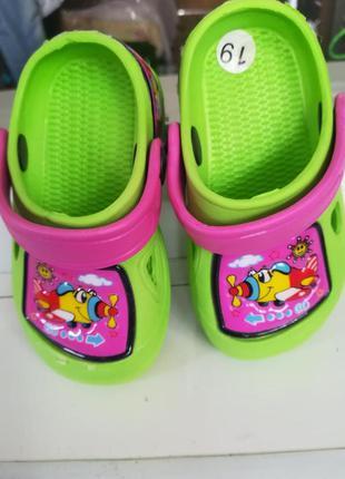 Босоножки, сандалии на девочку, 19 размер