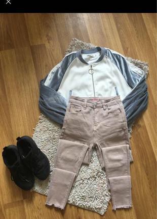 джинсы беж