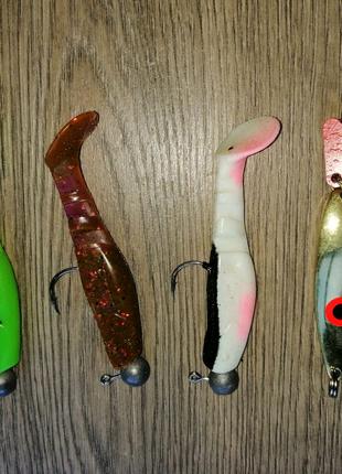 Воблер, твистер, блесна, рибалка