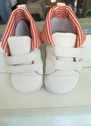 Пинетки, ботинки, кроссовки на малыша 0-6 месяцев