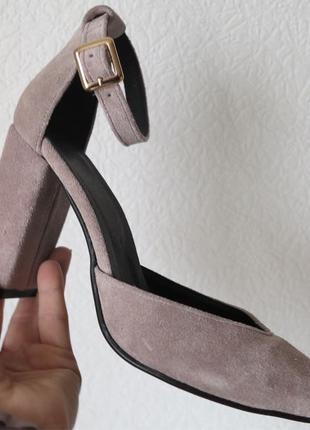 Mante! Красивые женские цвет латте босоножки туфли каблук 10 см в