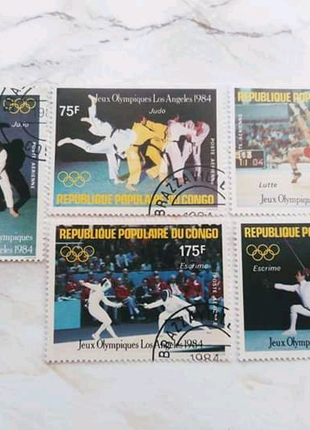 Набір Олімпіада в Лос-Анджелес 1984 рік