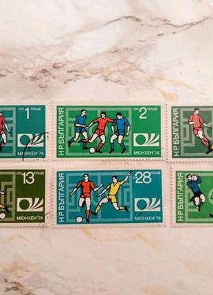 Набір ЧС з футболу в ФРН 1974 рік