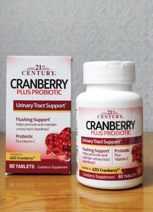 21st Century, Клюква с пробиотиками, 60 таблеток